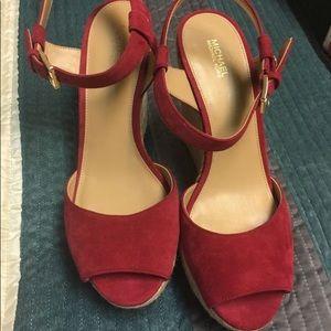 Michael Kors espadrille wedge heel sandals - S 10